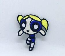 The Powerpuff Girls superhero cartoon Blue Iron/Sew on Embroidered Patch