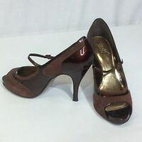 Carlos By Carlos Santana Starlet Leather Pumps Heels Shoes Size 9M