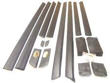 AUDI 100 C4 1991-97 Türen trimmt Formteile Formteile und schützende Gummi-Set