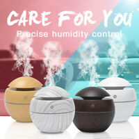 Mini Aroma Humidifier Essential Oil Difuser Ultrasonic Aromatherapy LED Purifier