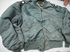 US Air Force L-2B Flight Jacket Size Extra Large MFG Sky Line Clothing Co LT COL