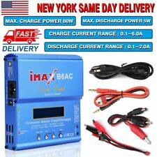 IMAX B6AC 80W 1-6S RC LiPo NiMh NiCd Battery Balance Charger Discharger Power
