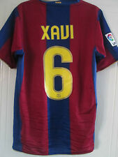 Barcelona 2007-2008 Home Xavi 6 Camiseta De Fútbol Talla / 39401
