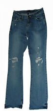 Aéropostale  AUTHENTIC FLARE medium JEANS 9/10 REG 100% cotton 30x32 vguc