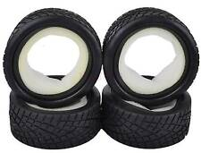 4PCS RC 1:10 On-Road Car Grain Foam Rubber Tyre Tires Fit HSP HPI Redcat 8001
