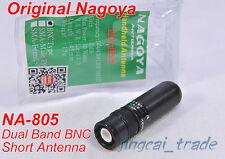 Original Nagoya NA-805 Short Dual Band Antenna BNC for Yaesu Icom Marantz Radio