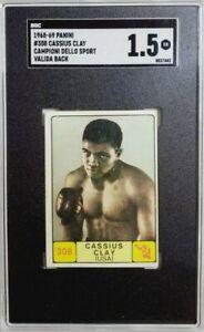 1968 Panini Campioni Dello Sport #308 Cassius Clay Muhammad Ali SGC 1.5 Valida