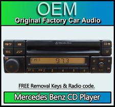 Mercedes MF2297 CD player, Mercedes E-Class W124 car stereo + radio code, keys