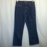"""Christopher & Banks Bootcut Jeans Women's Size 8S Blue 28"""" Inseam Modern Fit"""