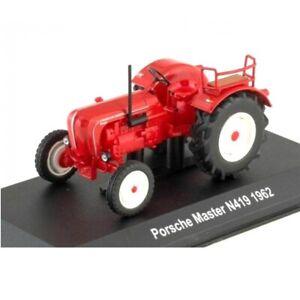 Porsche Master N419 1962 1:43 Farm tractor UH Hachette Diecast
