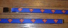 Superman con Hebilla Cinturón Talla Única Totalmente Ajustable Nailon