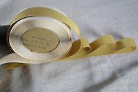 "10 yard  spool 5/8"" vintage Silk Cotton yellow petersham grosgrain ribbon hat"
