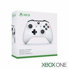 NEW IN BOX Genuine Microsoft XBOX ONE Wireless Controller 1708 WHITE - TF5-00001