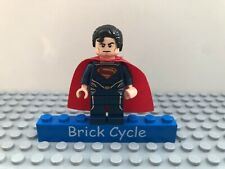 Lego Superman Minifigure From Sets 76003 76009 & 76002 (sh077)