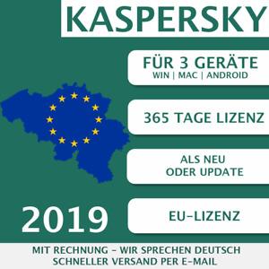 Kaspersky Internet Security 2019 EU 3 Geräte, 3 PC Multi-Device KEY ESD