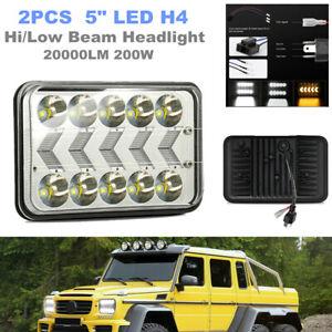 "5"" LED H4 Car Truck Headlight Sealed Corner Lamp Hi/Low Beam Off-road Work Light"