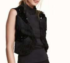 Fabulous Premium Quality H&M Top With Sequins And Tassels ❤ Blogger Fashion Chic