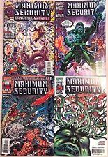 MAXIMUM SECURITY#0-3 VF-NM LOT 2000  MARVEL COMICS