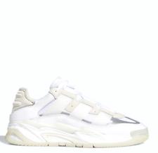 Adidas para hombre niteball Estilo De Vida Zapatos Tenis Blanco FV4847 Talla 4-12