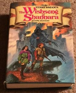 SIGNED The Wishsong Of Shannara by Terry Brooks Autographed TRUE First Edition