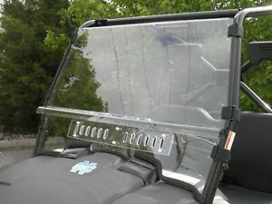 Kymco XUV 450i Two Piece Premium Lexan Windshield with Dual Vents