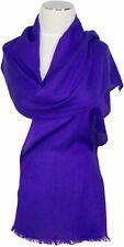 Pashmina Schal 70%Cashmere 30%Seide silk Lila purple  Jacquard scarf écharpe