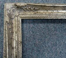 Picture Frame-20x24 Shabby Chic Antique Style Baroque Ornate Gray Silver 102S