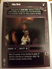 Star Wars CCG WB A New Hope Unlimited Danz Borin X2 NrMint-Mint