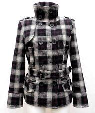Manteau CLOCKHOUSE T 42 XL 4 Ecossais Hiver Veste TBE Blazer Jacket Chaqueta été