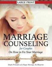 Marriage Counseling for Couples : On How to Fix Your Marriage (Large Print)_ ...