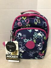 Kipling Disney Minnie Mouse Alber Convertible Backpack Doodle Blue/silver