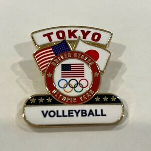 USA Volleyball Tokyo 2020 Pin Badge (Dated) - LAST ONE!