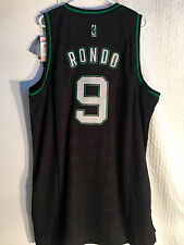 Adidas Swingman Jersey BOSTON Celtics Rajon Rondo Black Rhythm sz 2X