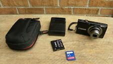 Canon PowerShot A2300 HD 16MP Digital Camera 5x Optical Zoom, Black, w/Accs.