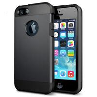 Coque blindée pour iphone 5C noire haute qualité silicone + polycarbonate