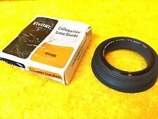 ***NEW*** 49 mm VIVITAR COLLAPSIBLE CAMERA LENS SHADE
