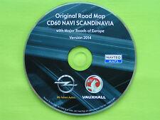 NAVIGATION OPEL CD 60 NAVI CD 80 NAVI SKANDINAVIEN + EU 2014 CD60 ANTARA CORSA D