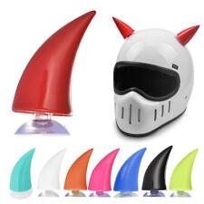Rubber Motorcross Helmet Decoration Headwear Stick Horn Motorcycle Bike Decor