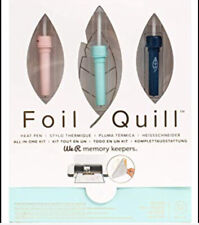 WE R MEMORY KEEPERS, FOIL QUILL KIT. Silhouette , Scan n Cut