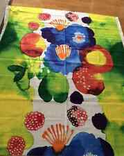 "Marimekko Juhannustaika fabric panel, one repeat rapport, 50"" x 56"", Finland"