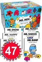Mr Men My Complete Collection 47 Books Box Set RRP £140.53 Brand New Design