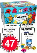 Mr Men My Complete Collection 47 Books Box Set RRP £140.53 Brand New Design
