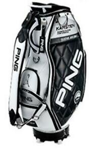 PING Cart caddy bag CB-C202 New 2019 Model Stand 9.5 47 inch White/Black