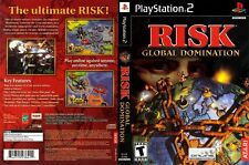 Risk: Global Domination Sony PlayStation 2 PS2 COMPLETE Case Manual & Game Disc