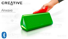 Creative Airwave Portable Bluetooth Wireless NFC Speaker with Built-in Microphon