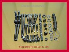 Honda Dax / Monkey 6 Volt V2A Schrauben-Satz Edelstahlschrauben Motorschrauben