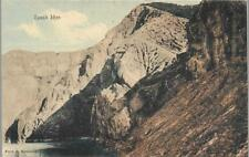 Ijen, East Java, Indonesia (Dutch East Indies) - volcanoes - postcard c.1920s