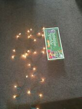 Vintage Christmas Lights 40 bulbs