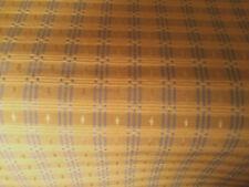 Drapery/Upholstery Fabric, Gold/Blue Geometric Print, 5 Yards, Very Nice