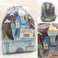 Disney Parks Magic Kingdom Cinderella Castle Loungefly Mini Backpack